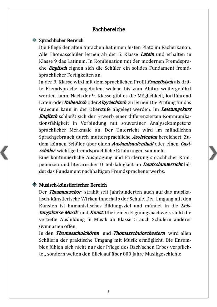 Thomasschule Fachbereiche(1)